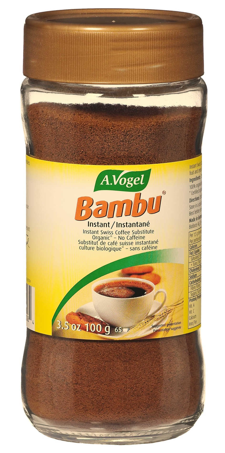 A.VOGEL Bambu instant Coffee 100g